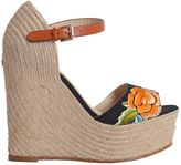 Etro Stitched Wedge Sandal