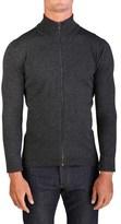 Prada Men's Wool Zip Up Turtleneck Sweater.