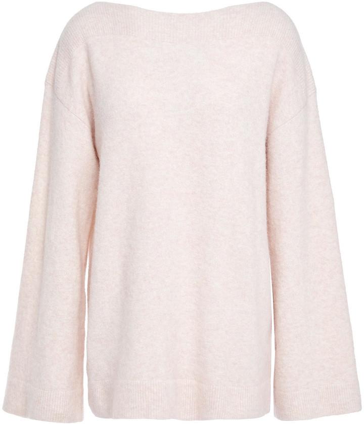 3.1 Phillip Lim Melange Brushed Knitted Sweater