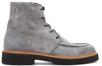 Rupert Sanderson Vesper Suede Ankle Boots - Grey