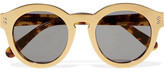 Stella McCartney Round-frame Gold-tone And Acetete Sunglasses - One size