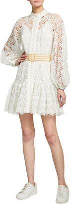 Zimmermann Empire Short Fit-&-Flare Dress