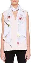 Ted Baker Osma Oriental Blossom Skinny Silk Scarf