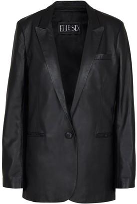 Elle.Sd Leather Blazer