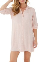 Plum Pretty Sugar Women's Floral Embroidered Nightshirt