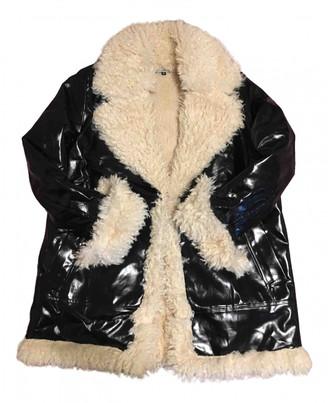 Silvian Heach Black Cotton Coats