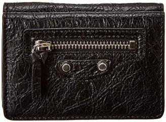 Balenciaga Classic Mini Leather Wallet