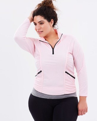 Curvy Chic Sports Stay Cool Long Sleeve Top