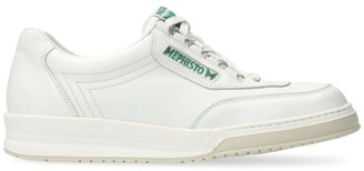 Mephisto Match Leather Tennis Sneakers