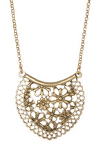 Lucky Brand Lace Pendant Necklace