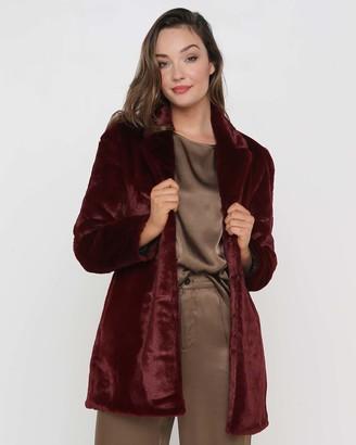 Faye Black Label Unreal Faux Fur Coat