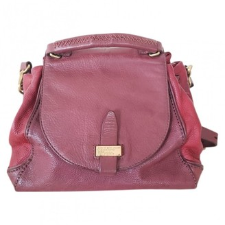 Marc by Marc Jacobs Burgundy Leather Handbags