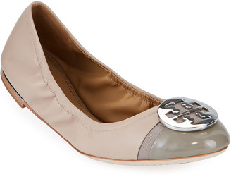 Tory Burch Minnie Cap-Toe Ballet Flats