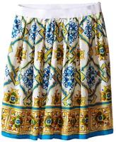 Dolce & Gabbana Medallion Print Skirt (Toddler/Little Kids)