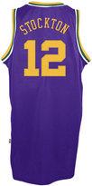 adidas Men's John Stockton Utah Jazz Retired Player Swingman Jersey