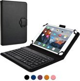 Cooper Cases keyboard case, COOPER BACKLIGHT EXECUTIVE 2-in-1 Backlit LED Bluetooth Wireless Keyboard Leather Travel Cover Folio Portfolio Stand with 7 Colors SM-T311 T315 T310