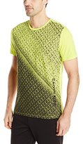 Calvin Klein Men's Honeycomb Dsitressed Tee