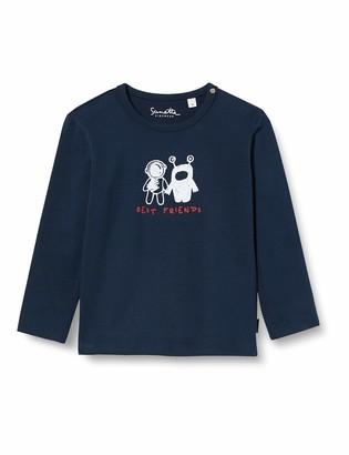 Sanetta Baby Boys Shadow Blue Toddler T-Shirt Set 80