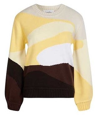 House of Sunny - Yellow Landscape Knitwear - 8