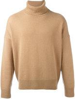 Ami Alexandre Mattiussi oversized turtleneck sweater - men - Cashmere/Wool - XS