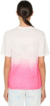 Off-White Degrade Printed Cotton Jersey T-Shirt