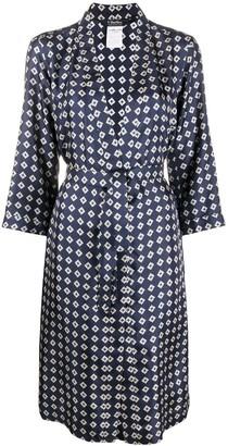 Max Mara Geometric Print Kimono