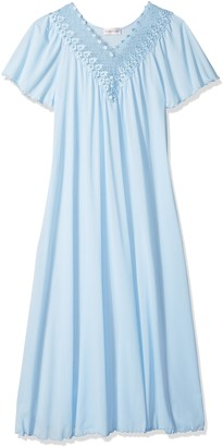 Shadowline Women's Beloved 53 Inch Flutter Sleeve Long Gown