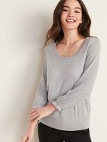 Old Navy Lightweight Pointelle-Sleeve Sweater for Women