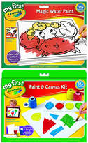 Crayola My First Canvas & Magic Water Paint Set