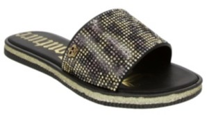Juicy Couture Women's Yippy Beaded Slide Sandal Women's Shoes