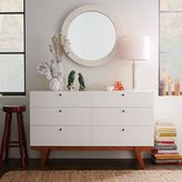 west elm Modern 6-Drawer Dresser