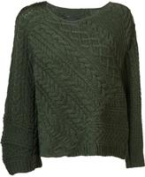 Baja East round neck jumper - women - Cashmere/Virgin Wool - 1
