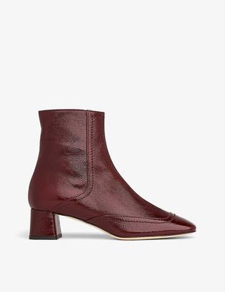 LK Bennett Adrianna suede ankle boots