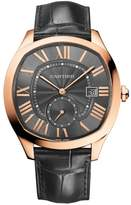 Cartier Drive de WGNM0004 Rose Gold and Leather Gray Dial Automatic Watch