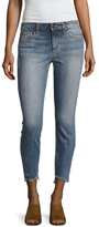 Joe's Jeans The Blondie Mid-Rise Ankle Asymmetrical Hem Jean