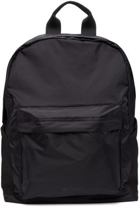 Norse Projects Black Packable Hybrid Backpack