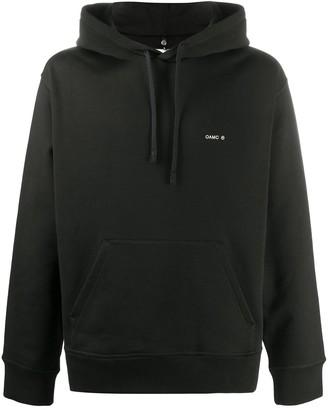 Oamc Long-Sleeved Rear Print Hoodie