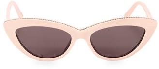 Stella McCartney 52MM Chain-Embellished Cat Eye Sunglasses
