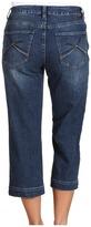 Jag Jeans Callie Crop in Dock Side Blue (Dock Side Blue) - Apparel