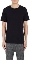 Solid & Striped MEN'S PATCH-POCKET T-SHIRT-BLACK SIZE S