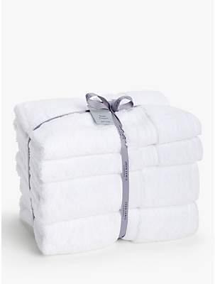 John Lewis & Partners Silky Suvin Cotton 4 Piece Towel Bale