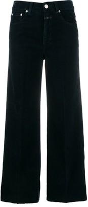 Closed Five Pocket Design Cropped Jeans