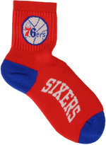 For Bare Feet Philadelphia 76ers Ankle TC 501 Med Socks