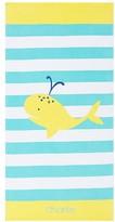 Pottery Barn Kids Whale Classic Stripe Kid Beach Towel, Multi