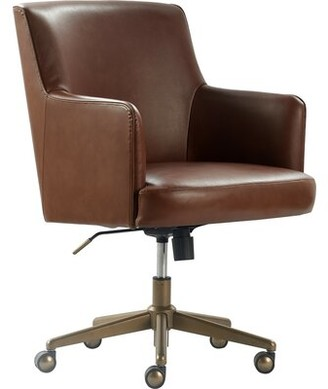 Tommy Hilfiger Belmont Task Chair Upholstery Color: Brown