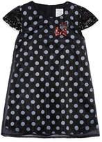 Disney Short Sleeve Minnie Mouse A-Line Dress - Girls