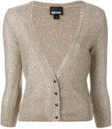 Just Cavalli knit buttoned cardigan - women - Polyester - S