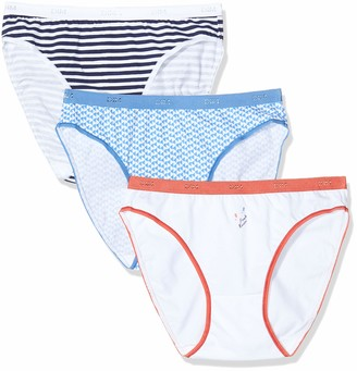 Dim Women's Slip LES Pockets Coton X3