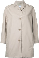 Aspesi long jacket - women - Cotton/Polyamide/Polyester - S