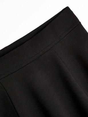 Very Girls 2 Pack Jersey School Skater Skirts - Black